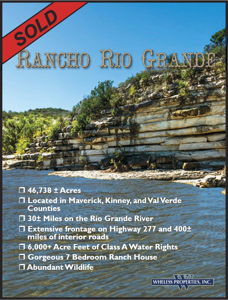 For Sale Rancho Rio Grande one page infonew
